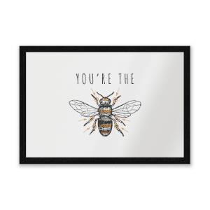You're The Bees Knees Entrance Mat
