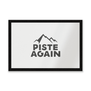 Piste Again Entrance Mat