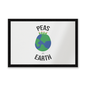 Peas On Earth Entrance Mat