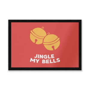 Jingle My Bells Entrance Mat