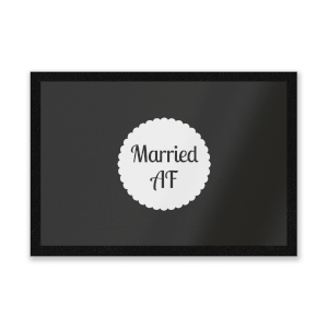 Married AF Entrance Mat