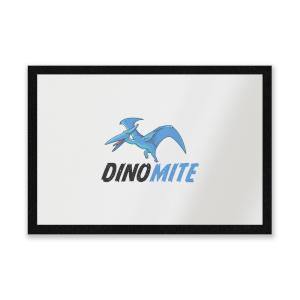 Dino Mite Entrance Mat