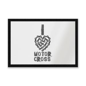 I Love Motorcross Entrance Mat