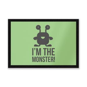 I'm The Monster Entrance Mat