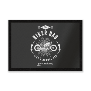 Biker Dad Entrance Mat