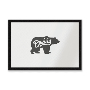 Daddy Bear Entrance Mat