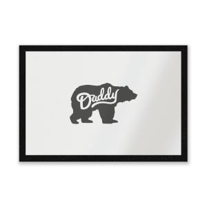 Daddy Bear Entrance Mat