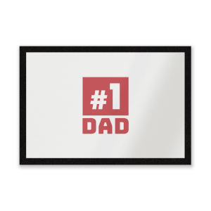 Number 1 Dad Entrance Mat