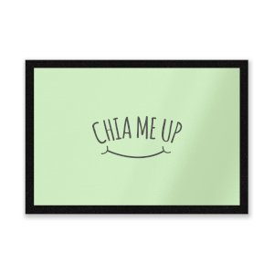 Chia Me Up Entrance Mat