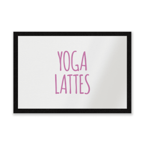 Yoga Lattes Entrance Mat