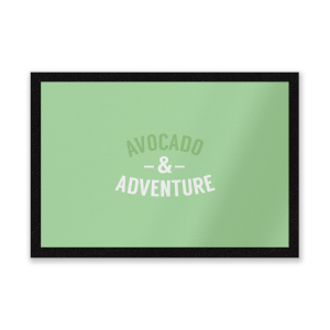 Avocado And Adventure Entrance Mat