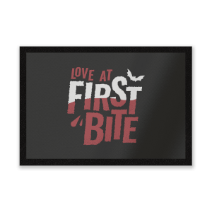 Love At First Bite Entrance Mat