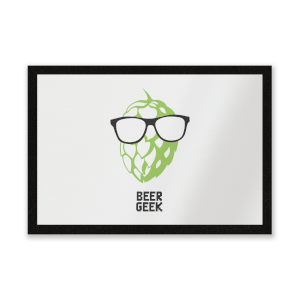 Beer Geek Entrance Mat