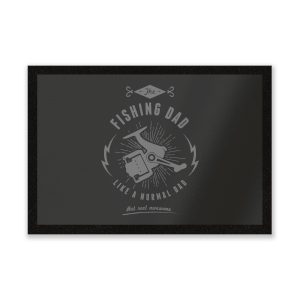 Fishing Dad Entrance Mat