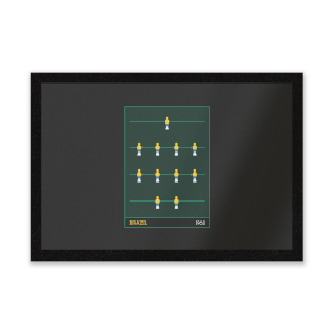 Brazil Fooseball Entrance Mat