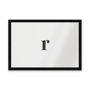 R Entrance Mat