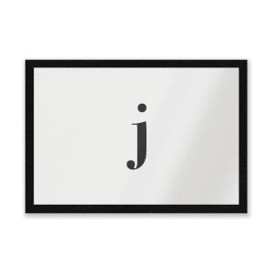J Entrance Mat