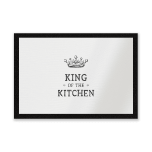 King Of The Kitchen Entrance Mat