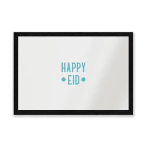Happy Eid Aqua Entrance Mat
