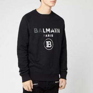 Balmain Men's Sweatshirt - Noir/Oro