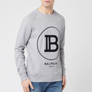 Balmain Men's Sweatshirt - Gris Chine