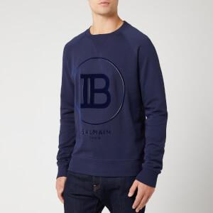 Balmain Men's Sweatshirt - Marine