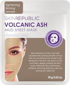 Skin Republic Volcanic Ash Mud Face Sheet Mask 18g