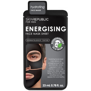 Skin Republic Men's Energising Face Sheet Mask 23ml