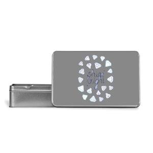 Shine Bright Metal Storage Tin