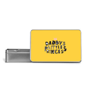 Daddy's Little Princess Metal Storage Tin