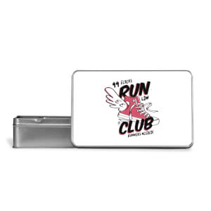 RUN CLUB 99 Metal Storage Tin