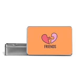 Friends Metal Storage Tin