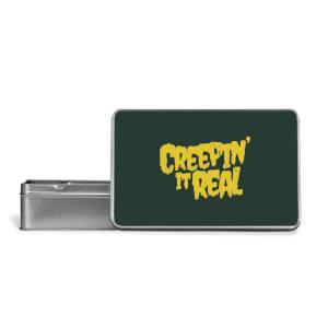 Creepin It Real Metal Storage Tin