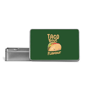 Taco 'Bout Flavour Metal Storage Tin