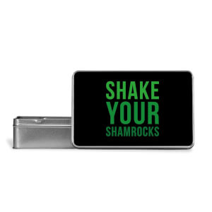 Shake Your Shamrocks Metal Storage Tin