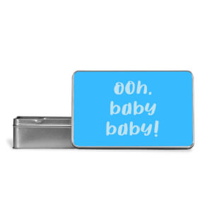 Ooh Baby Baby Metal Storage Tin