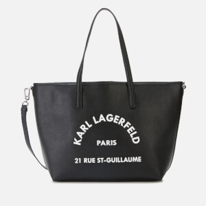 Karl Lagerfeld Women's Rue St. Guillaume Tote Bag - Black
