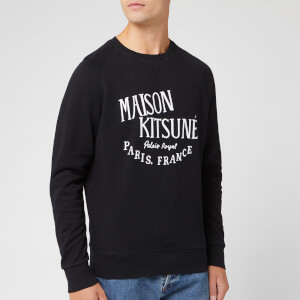 Maison Kitsuné Men's Palais Royal Sweatshirt - Black