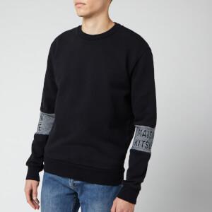 Maison Kitsuné Men's Jacquard Rib Sweatshirt - Black