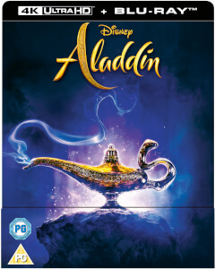 Exclusivité Zavvi : Steelbook Aladdin 4K Ultra HD (Blu-Ray 2D inclus)