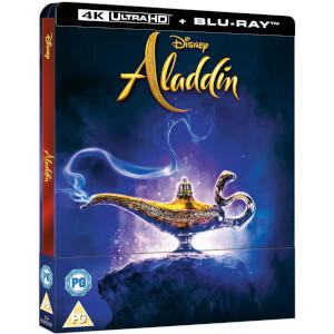 Exclusivité Zavvi : Steelbook Aladdin 4K Ultra HD (Blu-Ray 2D inclus)