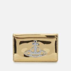 Vivienne Westwood Women's Johanna Flap Card Holder - Gold