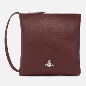 Vivienne Westwood Women's Victoria Square Cross Body Bag - Burgundy