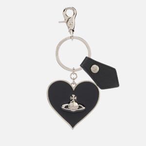 Vivienne Westwood Women's Gadget Mirror Heart Keyring - Black
