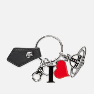 Vivienne Westwood Women's Gadget I Love Orb Keyring - Black