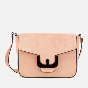 Coccinelle Women's Ambrine Suede Cross Body Bag - Peony