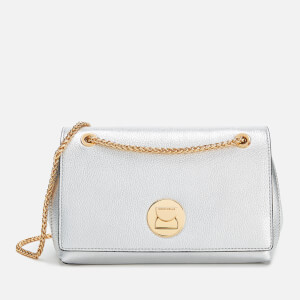 Coccinelle Women's Liya Cross Body Bag - Silver