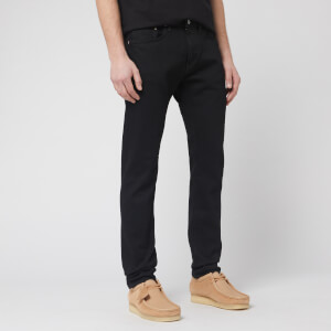 Edwin Men's Slim Tapered Kaihara Jeans - Black Rinsed