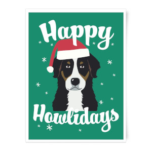 Happy Howlidays Art Print