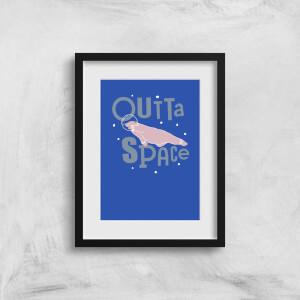Outta Space Art Print